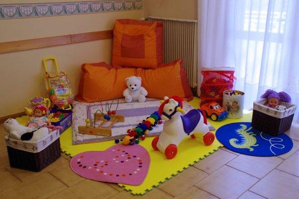 La sala giochi Casa per ferie Paola di Rosa