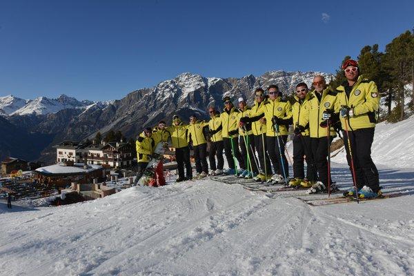 Presentation Photo Ski and snowboard school Gallo Cedrone