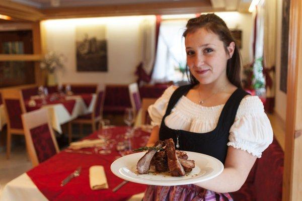 Il ristorante Sover (Valle di Cembra) Tirol