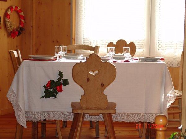 Il ristorante Sover (Valle di Cembra) Maria