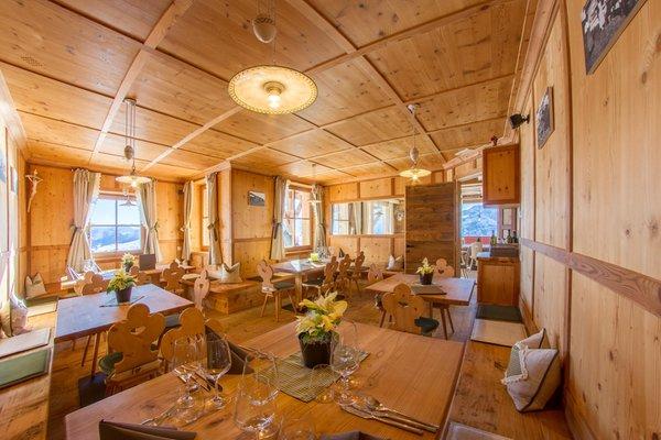 Il ristorante Alpe di Siusi Tschötsch Alm