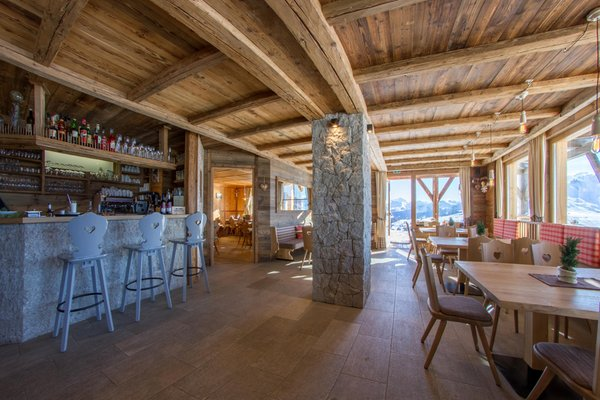 The common areas Mountain hut Tschötsch Alm
