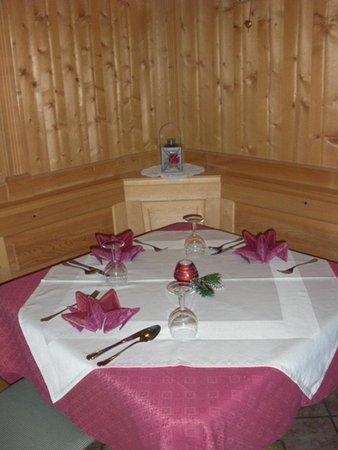 Il ristorante Colfosco Agriturismo L'Sciadà