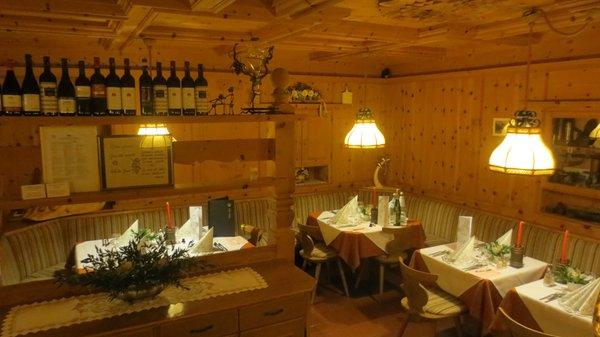 Il ristorante Colfosco Borest