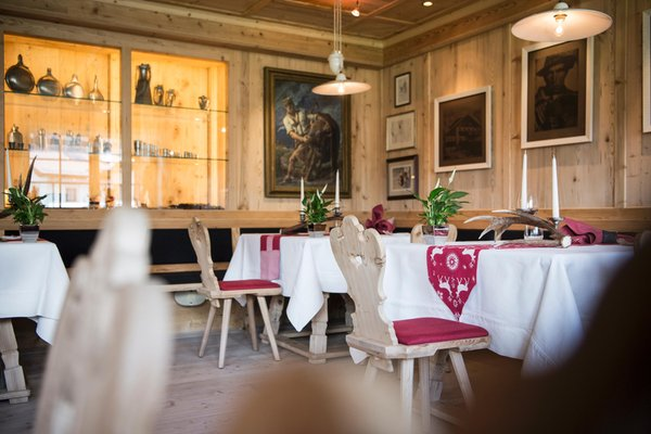 Il ristorante Colfosco Luis Trenker Stube