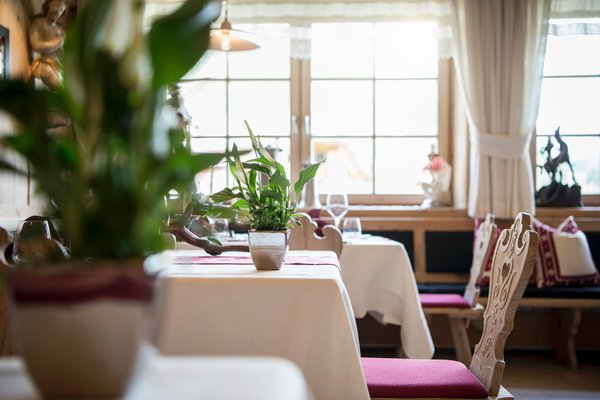 The restaurant Colfosco Luis Trenker Stube
