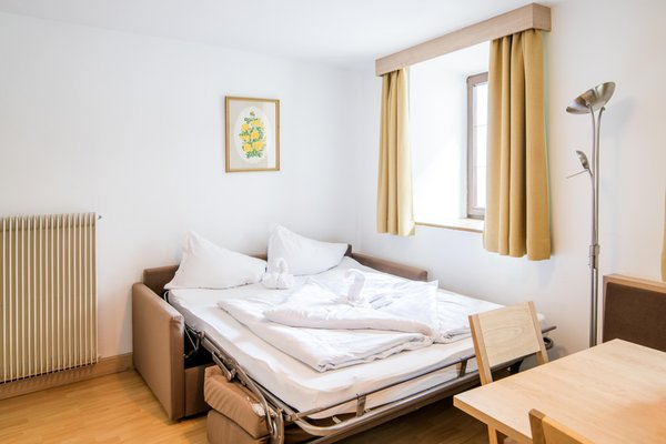 La zona giorno Apartments Heidenberger Fienili
