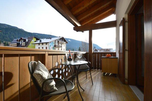 Foto del balcone Casa Orso Grigio