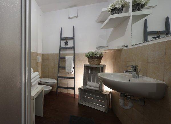 Foto del bagno Appartamenti Casa Orso Grigio