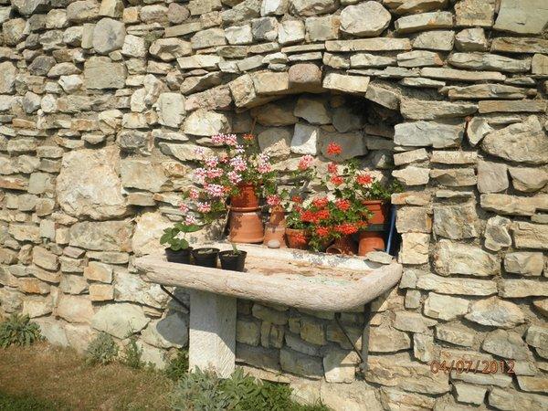 Foto del giardino Villa Lagarina