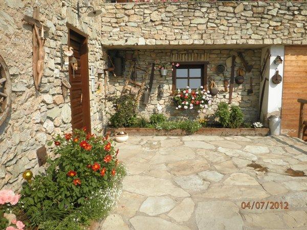 Foto esterno in estate Al Ghiro