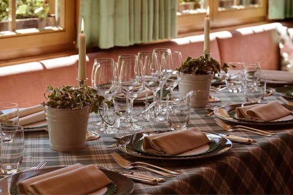 Il ristorante Corvara Ladinia