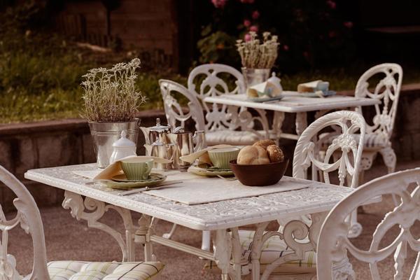 Foto del giardino Corvara