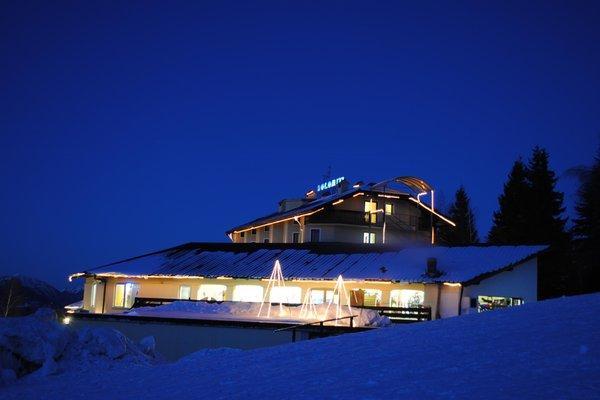 Foto invernale di presentazione Hotel Dolomiti