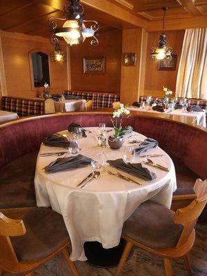 Il ristorante Corvara Alisander