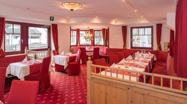 Das Restaurant Sand in Taufers Hellweger