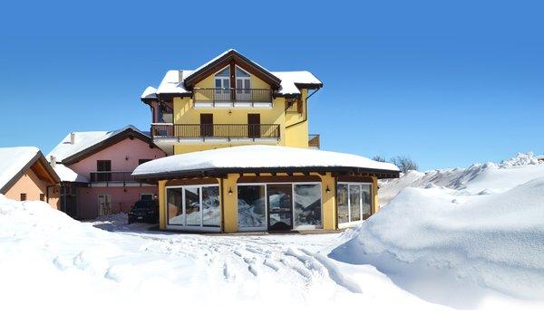 Foto invernale di presentazione Residence Bellavista