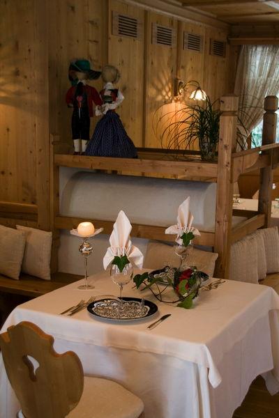 Il ristorante Corvara Bel Sit