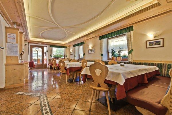 Il ristorante Corvara Caterina