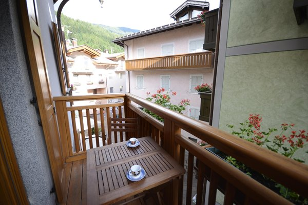 Foto del balcone Casa Ferrari