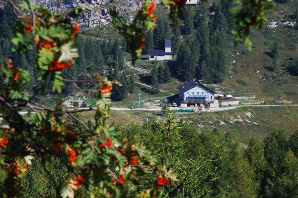 Position Mountain lodge Vincenzo Lancia Trambileno (Rovereto)
