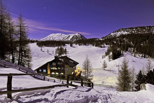 Winter presentation photo Vincenzo Lancia - Mountain lodge
