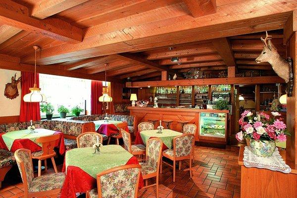Il ristorante Corvara Monte Cherz