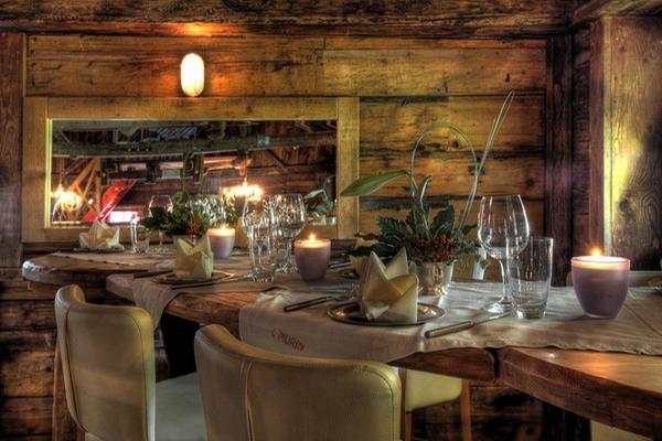 Il ristorante Corvara L'Murin Ostaria