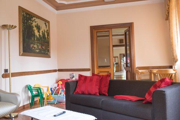 La zona giorno Hotel Du Lac