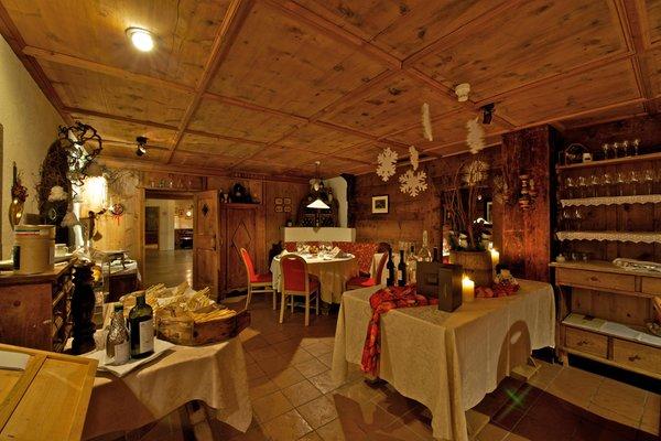 Il ristorante Corvara Stüa Ladina