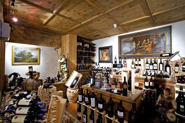 La cantina dei vini Corvara Stüa Ladina