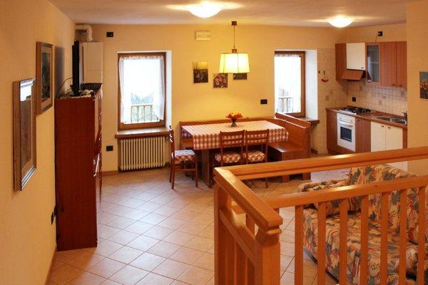 La zona giorno Casa Genziana - Appartamenti 3 genziane