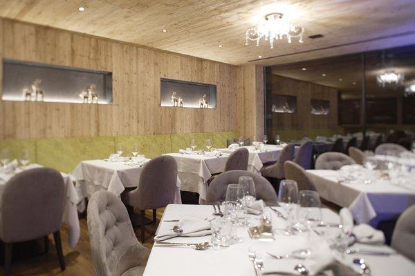 The restaurant La Villa Ciasa Soleil