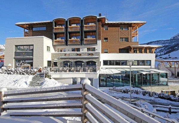 Foto esterno in inverno Ciasa Soleil