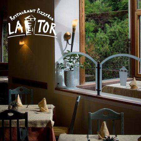 Il ristorante La Villa La Tor