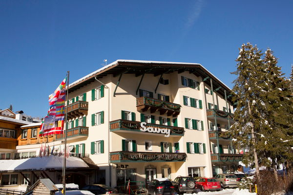 Photo exteriors in winter Savoy