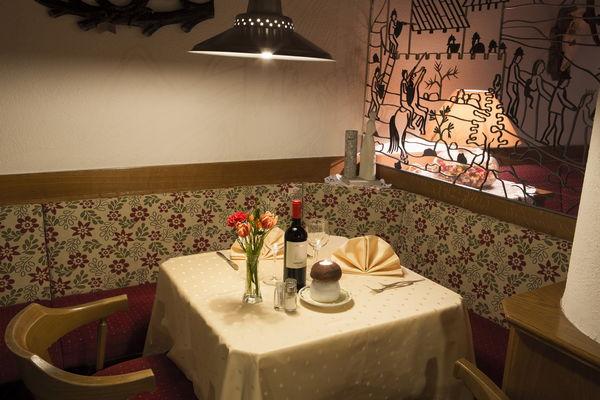 The restaurant La Villa Savoy