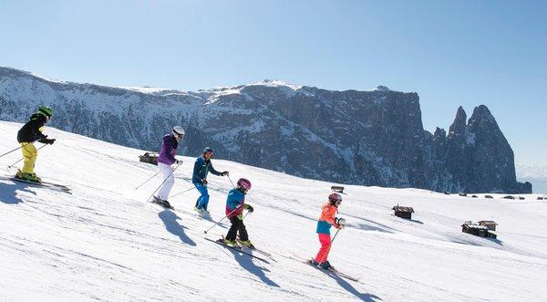 Winter Präsentationsbild Tourismusverband Seiser Alm Marketing