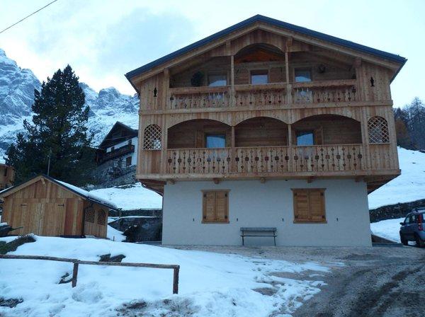 Foto esterno in inverno Casa Brose