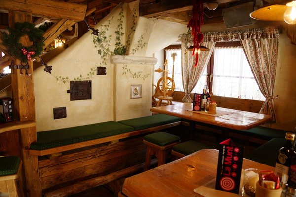 Das Restaurant Badia - Pedraces La Munt