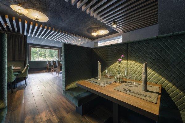 Il ristorante Badia - Pedraces Lech da Sompunt