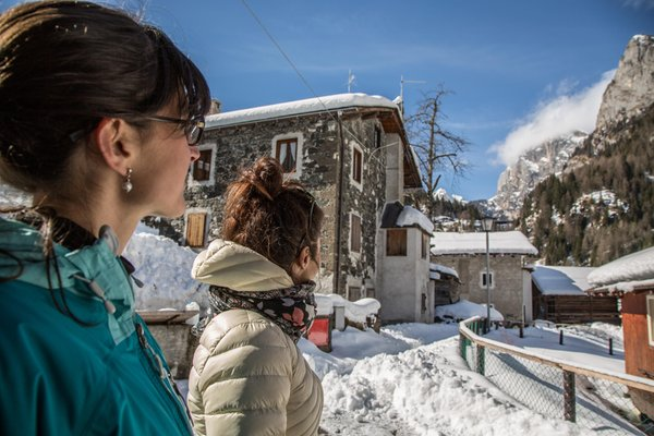 Gallery Rocca Pietore (Marmolada) inverno