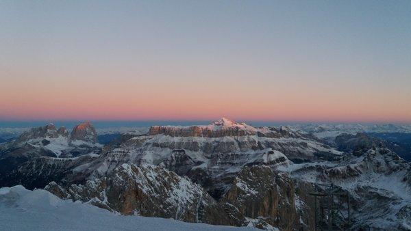 Panorama Rocca Pietore (Marmolada)