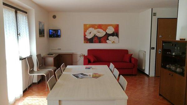 Der Wohnraum Ferienwohnungen Campicioi