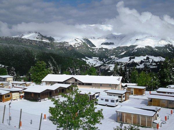 Foto invernale di presentazione Campeggio La Polsa