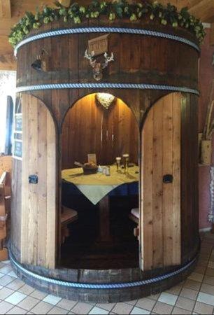 The restaurant Fai della Paganella Keller