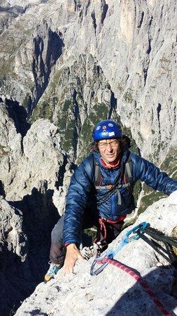 Foto di presentazione Guida alpina Antonio Zagonel