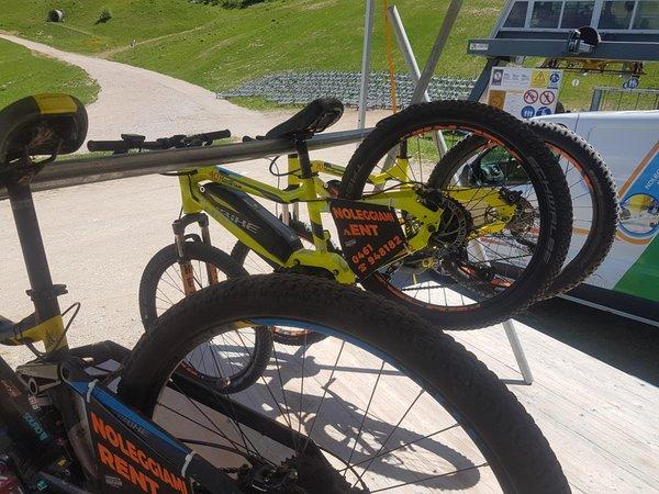 Presentation Photo Bike rental De Gasperi