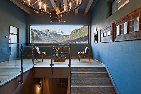 La zona giorno QC Terme Dolomiti - Spa