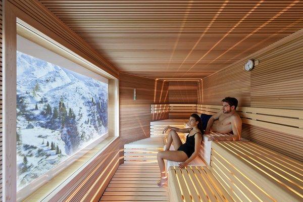 Foto della sauna Pozza di Fassa